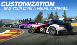 Real Racing 3 v 4.7.3 MOD APK with unlimited money and Gold.