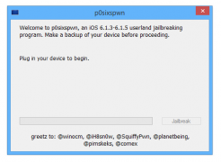 How to Untethered Jailbreak iOS 6.1.3 and iOS 6.1.4 using P0sixspwn on Windows.