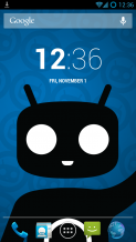 How to capture screen shot in CyanogenMod 10.x.
