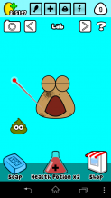 Download POU v1.4.28 modded Apk Hack with Unlimited Coins & Potions.