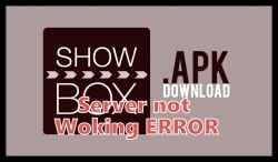 ShowBox 2018 server not working error fix.