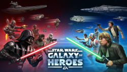 Star Wars Galaxy Of Heroes Mod Apk v 0.10.279290 with God Mod and Increased Damages.