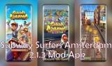 Subway Surfers Amsterdam v2.1.3 Mod Apk [June 2020]