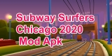 Subway Surfers Chicago 2020 v1.113.0 Mod Apk with Unlimited Keys & Coins.