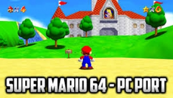 Super Mario 64 PC DX12 Port for Windows 10/8/7/XP & Mac PC.