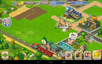 Download Township v1.6.5 Mod Apk loaded with infinite resources and money.