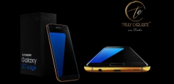 Galaxy S7 and S7 Edge in full 24/18K Gold plated body available for Pre-Order.