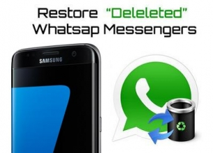 How to recover deleted WhatsApp messages on iPhone 7 or iPhone 7 Plus.