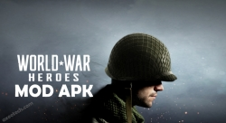 World War Heroes WW2 Online FPS Mod apk v 1.6.3 Hack with unlimited money and ammo.