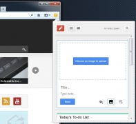 Download Google Keep Extension or Add-ons for your Chrome and Firefox browser.
