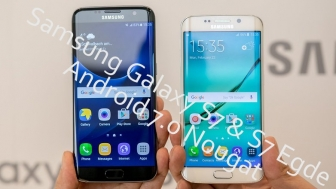 Samsung Galaxy S7 & S7 Edge to get Android 7.0 Nougat sooner then expected.