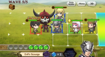 Chain Chronicle – RPG v 1.3.2 Mod Apk with massive Damage feature.