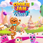 Cookie Jam Blast Mod Apk v 1.90.229 with unlimited moves, coins, money and gems.