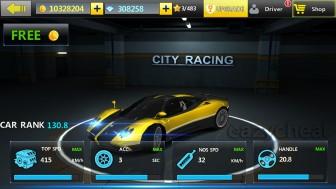 City Racing 3D 2.8.087 Mod Apk With unlimited coins and gems.