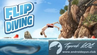 Flip Diving v 2.3.3 Mod Apk with unlimited coins and money.