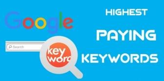 Highest paying Keywords for Google Adsense 2017.