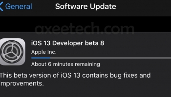 iOS 13 Beta 8 ipsw Direct Download With Profile Links. [21 August 2019]