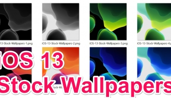 Download iOS 13 Stock Wallpapers here. [All 8 Full UHD 4K]