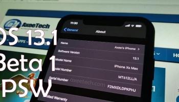 Download iOS 13.1 Beta 1 ipsw for iPhone, iPod, iPad. [28 August 2019]