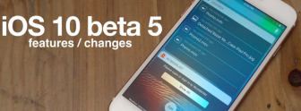 Download iOS 10 Beta 5 IPSW for iPhone 5, 5S, 6, 6S, 6S Plus, SE and iPad. [Direct Download]