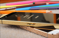 Rose Gold version of iPhone 5, The most precious series by Apple.