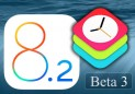 Download iOS 8.2 Beta 3 iPSW direct links from here.