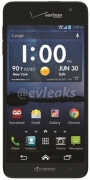 Kyocera Hydro Elite got a leaked image with Verizon logo on top.