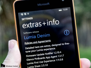 Lumia Denim is now available for Windows Phone 8.1 terminal