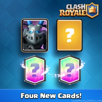 Download Clash Royale v 1.5.0 Apk with New Cards, New Arena & Tournaments mode enabled.
