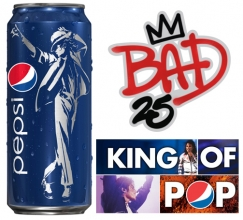 Pepsi released limited edition of NFC Chipped Michael Jackson Cans on their 25th Anniversary.