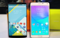 Nexus 6 vs Samsung Galaxy Note 4 comparison.