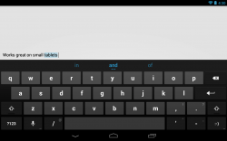Download Full Free Official Android 4.2 Jelly Bean keyboard for your Android Smartphone.