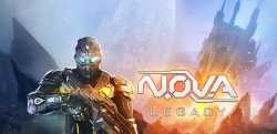 N.O.V.A. Legacy Mod Apk v 1.0.6 with unlimited money and coins hack.