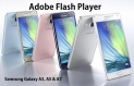 Download Flash Player for Samsung Galaxy  A5 (2016) and A7 (2016).