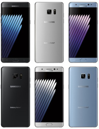Leaked press renders of the Samsung Galaxy Note 7