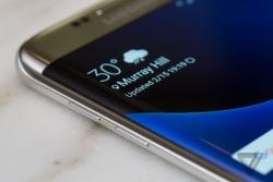 Download Samsung Galaxy S7 weather widget.