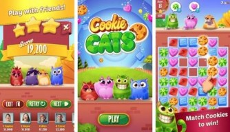 Cookie Cats 1.3.1 Mod Apk With free lives and Coins.
