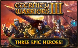 Eternity Warriors 3 v3.0.1 Mod apk loaded with auto-quest, increase HP, increase attack etc.