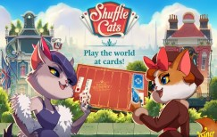 Shuffle Cats v 0.21.48 mod apk with unlimited cards, moves, coins and moves.