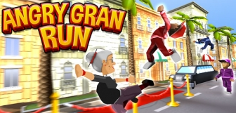 Angry Gran Run – Running Game v1.8 Mod Apk, with unlimited coins and gems.