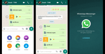 Download Latest WhatsApp Messenger v2.17.295 apk. [August 2017]