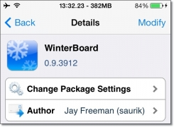 WinterBoard 0.9.3912 for iOS 7 on iPhone 5s released.